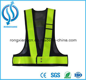 En471 Motorcycle Jacket Traffic Workwere High Visibility Security Vest Roadway pictures & photos