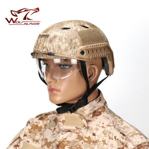 Military Tactical Head Protective Helmet Bj Airsoft Sport Fast Helmet pictures & photos