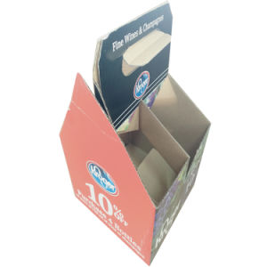 Popular and Cheap Corrugated Paper Wine Box with Custom Logo pictures & photos