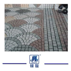 Flamed/Honed/Tumbled/Natural G603 Grey Cubestone/Cobblestone/Cube Granite Stone for Driveway pictures & photos