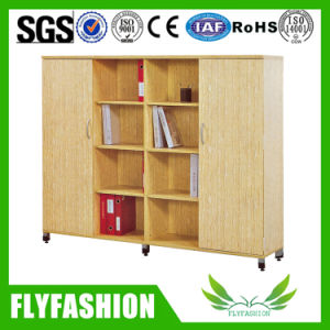 Wooden Children Bookshelf with Wheels (SF-104C) pictures & photos