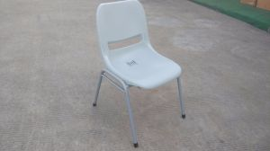 Hot Sale Outdoor Garden Stack Chair Plastic Metal Chair pictures & photos