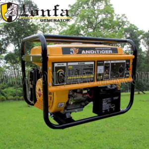 2kw, 2.5kw, 3.0kw, 5kw, 6kw Portable Home Use Gasoline Generator Set pictures & photos