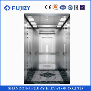 FUJI Zy Central Opening Passenger Elevator with Ce Certificate pictures & photos