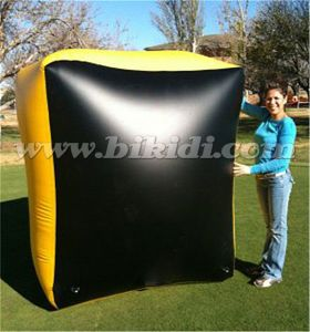 Small Brick Inflatable Paintball Bunker, Inflatable Bunker for Smart Games K8104 pictures & photos