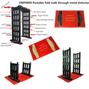 Hot Sale M-Scope Portable Fold Walk Through Metal Detector pictures & photos