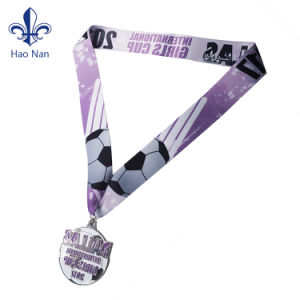 Best Selling Custom Colorful Printed Polyester Medal Ribbon pictures & photos