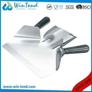 Commercial Stainless Steel French Fries Funnel Scoop Shovel with Double Stainless Detachable Handles pictures & photos