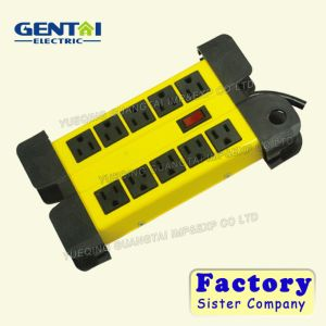 Surge Protection Power Strip Outlet Extension Socket for Us Plug pictures & photos