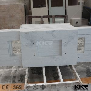 Artificial Stone Solid Surface Custom Vanity Top pictures & photos