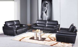 Modern White Leather Sectional Corner Sofa Living Room Couch pictures & photos