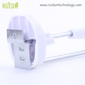 Retail Security Display, Plastic Security Slatwall Locking Display Hook for Retail Store pictures & photos