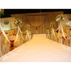 Easy Fast Install Pipe Drape Kits Greenery Ceremony Backdrop pictures & photos