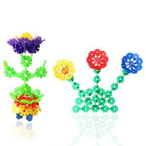 Kids Plastic Snowflake Puzzle Educational Toy pictures & photos