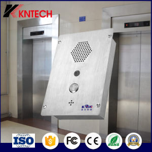 SIP Video Intercom Emergency Phone Knzd-37 for Tunnel/Metro pictures & photos