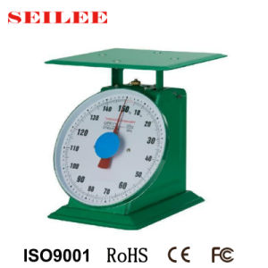 150kg Heavy Duty Mechanical Spring Weighing Scale with Plate pictures & photos