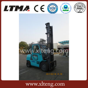 Small Manual Forklift Truck 3.5 Ton Diesel Forklift with 6m Lifting Height pictures & photos
