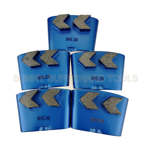 Hot Sale HTC Diamond Grinding Shoes / Diamond Grind Plates pictures & photos