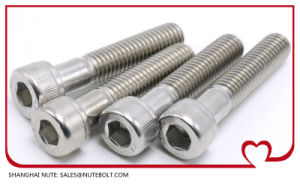 Stainless Steel Screw DIN912 (M12X20) pictures & photos