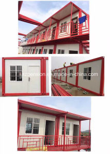 Low Pay Prefabricated/Prefab Foldable Mobile House pictures & photos