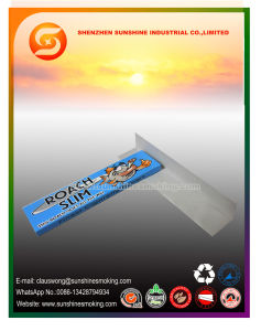 King Slim Size Rolling Paper with 14GSM Clear Paper pictures & photos