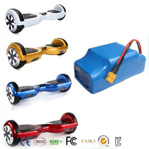 10s2p 4.4ah 158wh Hoverboard Li-ion Battery Pack, 18650 36V 4400mAh Lithium Li Ion Battery pictures & photos