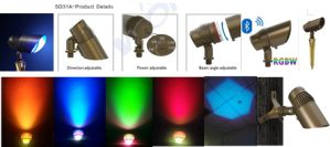 Landscape LED Uplight for Grass Lawn Garden Fixture Accent Light pictures & photos