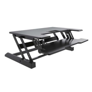 Electric Height Adjustable Sit Stand Desk (JN-LD02-E) pictures & photos