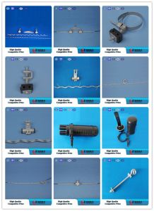 Suspension Clamp with 2 Bolts / Electric Power Cable Clamp pictures & photos