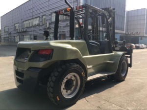 Un U Series Capacity 10000kg Heavy Duty 10.0t Diesel Forklift pictures & photos