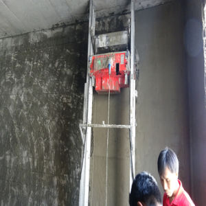 Construction Auto-Positioning System Concrete Plaster Machine pictures & photos