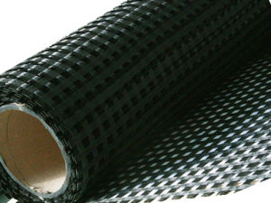 Warp Knitted Polyester Geogrid with PVC Coating pictures & photos