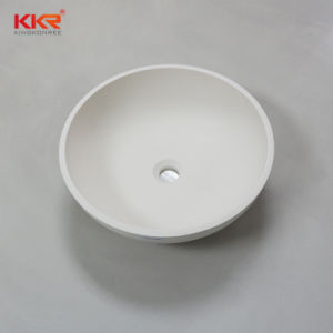 Artificial Stone Solid Surface Bathroom Countertop Sink pictures & photos
