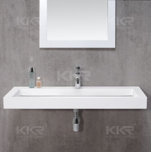 Simple Design Over Counter Bathroom Basin pictures & photos
