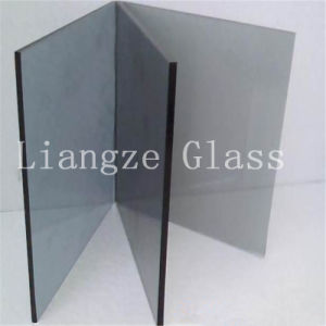 4mm European Gray Color Glass for Decoration/Building pictures & photos
