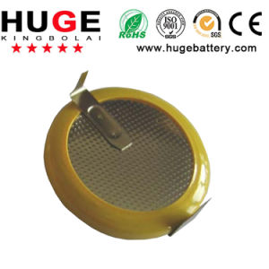 3.6V Rechargeable Lithium Button Cell Lir2016 pictures & photos