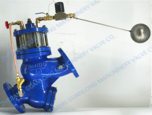 (GL98005) Buildin Strainer Piston Solenoid Water Level Control Float Ball Valve pictures & photos