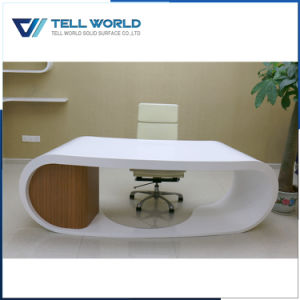 Solie Surface Modern Round Office Table for Office Furniture pictures & photos