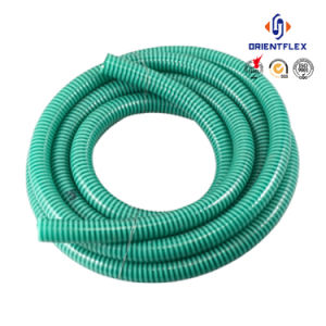 Heavy Duty Rigid Helix PVC Pipe Mining Suction Hose pictures & photos
