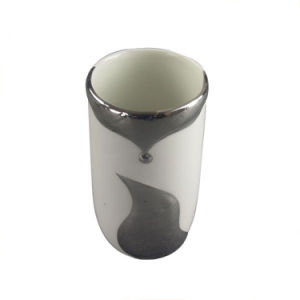 Electroplating Fox Design Ceramic Cup pictures & photos