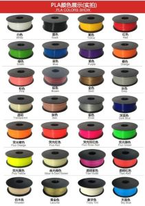 Anet PLA Filament 28 Colors 3D Printer Filament Wholesale pictures & photos
