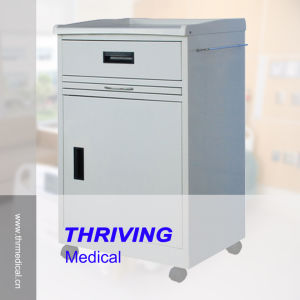 Metal Bedside Cabinet for Hospitals (THR-CB470) pictures & photos