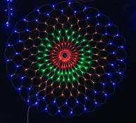 Christmas String Light Decoration Semi-Circle LED Net Light pictures & photos