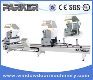 Parker Aluminum Profile Window Door Double Mitre Cutting Saw pictures & photos