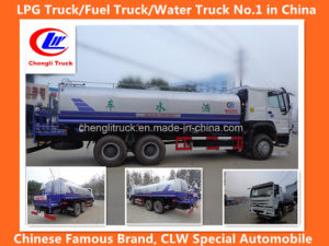 Sinotruk HOWO Disel Fuel 6X4 Water Truck Water Tank Truck Water Sprilkling Truck pictures & photos