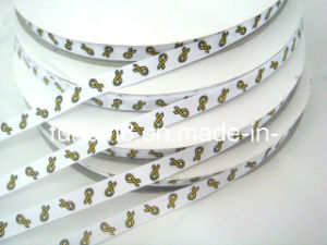 2012 Silk Screen Printed Grosgrain Ribbon pictures & photos