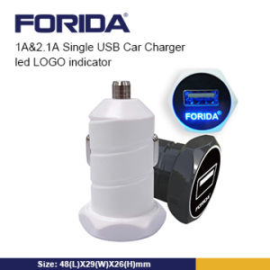 Portable Real Output 2.1A Dual USB Car Charger for iPhone6