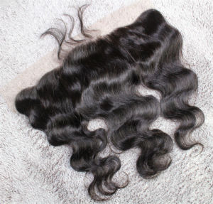 Body Wave 13*4 Freestyle Frontal Brazilian Remy Hair Full Lace Frontal pictures & photos