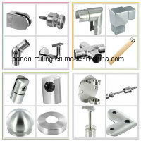 Wall Railing Fitting / Stainless Steel Balustrade Support / Square Handrail Bracket pictures & photos