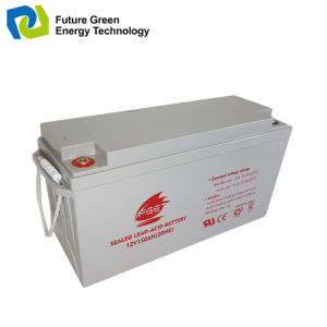 12V 200ah Deep Cycle Solar Wind Power System Storage Battery pictures & photos